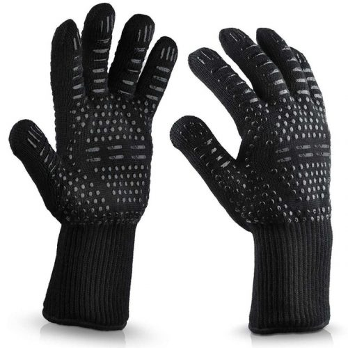 Heat And Cut Resistant BBQ Gloves