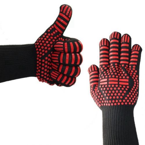 Heat And Cut Resistant Barbecue Gloves grill grilling